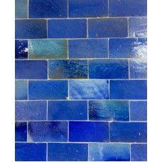 Zellige Tile Light Blue 15cm x 7.5cm