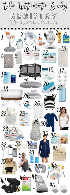 Trendy Baby Must Haves Items Posts Ideas Best Baby Registry, Baby Registry Must Haves, Baby Registry Items, Baby Shower Registry, Baby Registry Checklist, Baby Must Haves, Baby Outfits, Baby Items Must Have, Best Baby Items