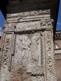 Arco degli Argentarii - lato esterno - Panairjdde - Arco degli Argentari