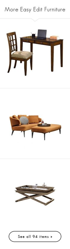 """""""More Easy Edit Furniture"""" by mfoster07 ❤ liked on Polyvore featuring desks, furniture, sofa, home, sofas, tall back sofa, high back furniture, high-back sofas, high back sofa and high back couch"""