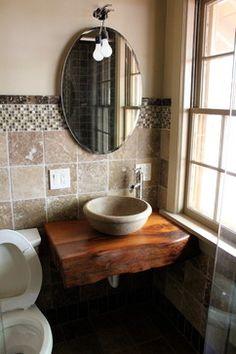 Custom Vanities - mediterranean - Bathroom - Atlanta - Littlebranch Farm