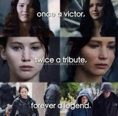 Katniss Everdeen, Hunger Games Katniss Everdeen is similar to Medusa because she was forced into the Hunger Games and forced to become the Mockingjay similar to how Medusa was raped against her will and turned into a gorgon.