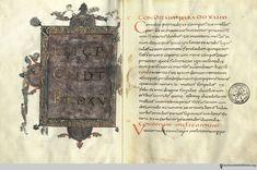 The gilt and illuminated Vatican manuscript of De re culininaria, as replicated in a 2013 facsimile. Vatican, Culture, Writing, History, Cooking, Books, Kitchen, Historia, Libros