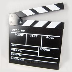Director Video Acrylic Clapboard Dry Erase TV Film Movie Clapper Board Slate with Color Sticks 20*20cm-in Photo Studio Accessories from Consumer Electronics on Aliexpress.com | Alibaba Group