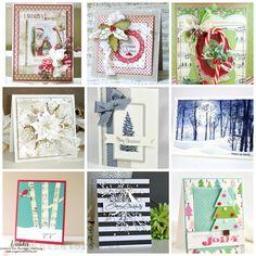 Trendy vo vianočnom tvorení / Trends in Christmas cardmaking