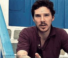 @Connie Bazinet ummmmm, the goatee on Mr. Benedict is divine.