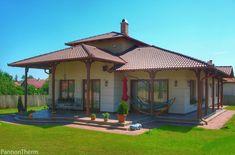 PannonTherm® passzív ablakok kerültek beépítésre. Gazebo, Outdoor Structures, House, Kiosk, Home, Pavilion, Cabana, Homes, Houses
