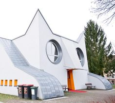 You decide: Are these animal-shaped buildings cute or creepy? http://tandl.me/1JUK5fH