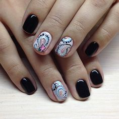 Shellac Nails, Acrylic Nails, Nail Polish, Get Nails, Hair And Nails, Finger Art, Tribal Nails, Short Nails Art, Fall Nail Art