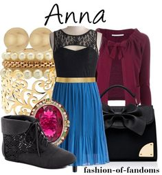 Anna from Frozen outfit