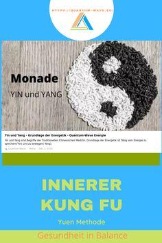 Balance zwischen Yin und Yang- Deine Mitte finden. Kung Fu, Wave, Traditional Chinese Medicine, Waves, Golf, Scale