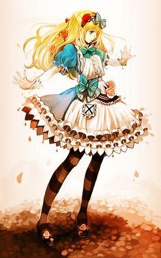 Alicie in wonderland anime:3