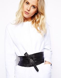 Enlarge ASOS Leather Obi Waist Belt