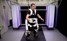 NASAs Exoskeleton for Astronauts & Paraplegic Patients | Video