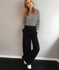 Inspired winter autumn fashion, scandi style, knits, loose trousers and classic cuts and colours, via: / classic /