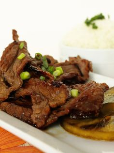 Hawaiian Beef Teriyaki on MyRecipeMagic.com