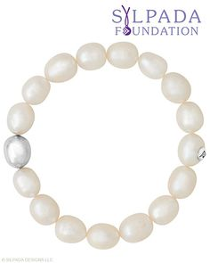 The Silpada Foundation selection. NEW pearl stretch bracelet!   I LOVE the simplicity and quality of this bracelet and $10 dollars goes towards helping other women.....what more could I ask for?