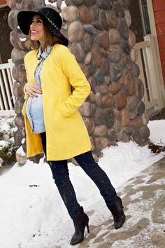 mychicbump - manteau jaune femme enceinte - jean Envie de fraises. Envie de fraise de nombreux modèles super sympa pour être stylé enceinte!!!