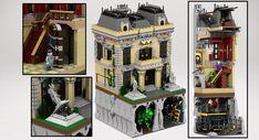 LEGO Ideas - Assault on Wayne Manor