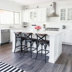 Gorgeous White Kitchens: House Remodel Chapter 4   The TomKat Studio Blog