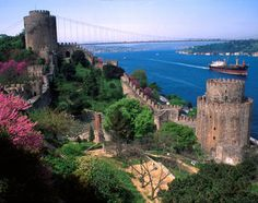 Rumeli Hisarı, Istanbul is a 16th-century fortress built to guard the Bosphorus.