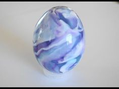 Polymer Clay Marbled Egg Tutorial