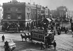 Elephant and Castle c1890.