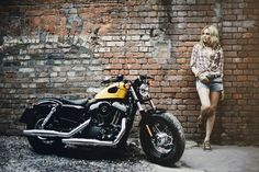 Motorcycle Girl 76 ~ Return of the Cafe Racers