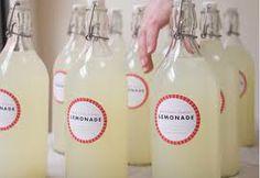 vintage lemonade bottles
