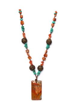 Handmade Statement Necklace with Large Picasso by ALFAdesigns, $59.99