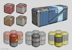 crate props concept art - Поиск в Google
