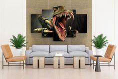Dinosaur Turok Fang & Claws - 5 piece Canvas