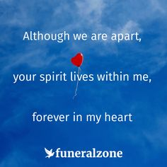 The people we love live on in our hearts, even after they are gone - Quotes about grief & loss
