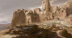 ArtStation - Desert Dragon Knight, Dongjun Lu