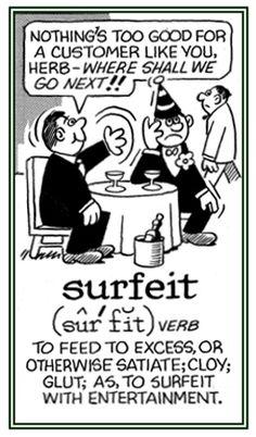 「surfeit*」の画像検索結果