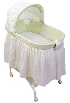Picture of KB021-ARC- Tender Vibes Travel Bassinet (lime green cover) recalled by Kolcraft