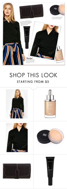 """""""Untitled #1367"""" by mycherryblossom ❤ liked on Polyvore featuring Christian Dior and Allies of Skin"""