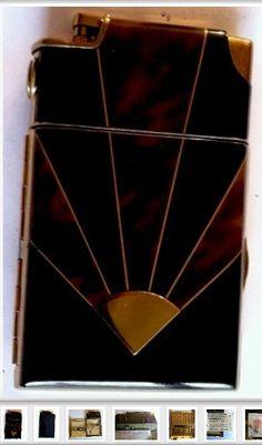 Art Deco cigarette case                                                                                                                                                                                 More