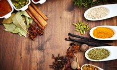 Health benefits of herbs & spices. Notably cinnamon and turmeric.