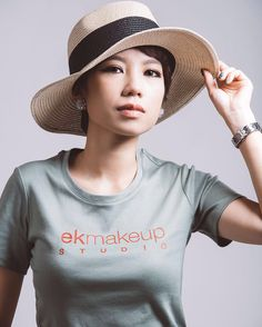 Korean fashion makeup & hairdo by Eesha KE