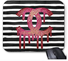"Decorate your desk, awaken your space and twinkle your tech with our Crystahhled mousepad. Who says work shouldn't be glamorous? - 9.25"" x 7.75"" – Perfect for any desk or work space. - Quality, full-c"