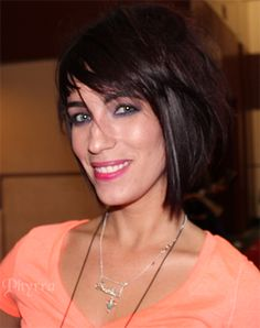 Rock Your Hair! Cristina in her edgy bob. Click through to see more.
