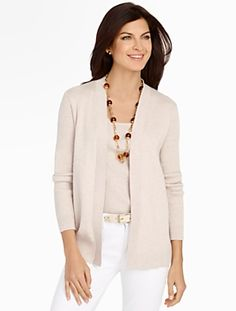 Talbots - Blocked Stripes Cardigan | | Misses Discover your new ...
