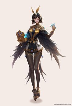 Kai Fine Art is an art website, shows painting and illustration works all over the world. Fantasy Character Design, Character Creation, Character Design Inspiration, Character Concept, Character Art, Dnd Characters, Fantasy Characters, Female Characters, Anime Fantasy