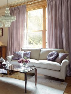 Laura Ashley - love the sofa