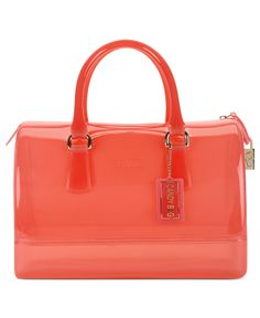 Furla Candy Bauletto Satchel - Handbags & Accessories - Macy's i want one in every color