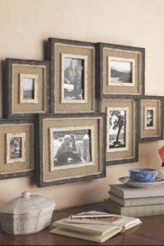 5x7 Collage Frame Picture Photo Barnwood Standard Size