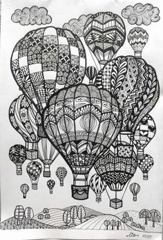 27 Creative Image of Doodle Art Coloring Pages . Doodle Art Coloring Pages Doodle Art Coloring Pages Hot Air Balloons Doodle Art Doodle And Doodle Art Drawing, Zentangle Drawings, Art Drawings Sketches, Drawing Ideas, Doodles Zentangles, Tattoo Sketches, Doodle Wall, Cute Doodle Art, Tiger Drawing