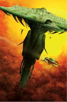JIM BURNS - art for Transmission by John Meaney - 2011 Gollancz Book