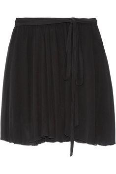 ETOILE ISABEL MARANT Akili Georgette Wrap Mini Skirt. #etoileisabelmarant #cloth #skirt